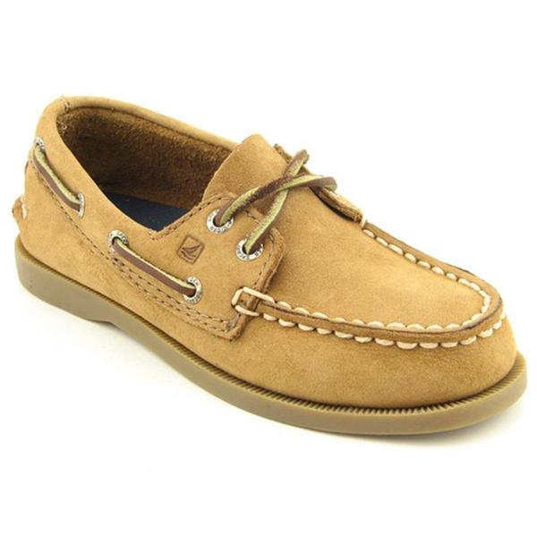 Sperry Top Sider Boy's 'A/O 2 Eye' Leather Athletic Shoe (Size 10)