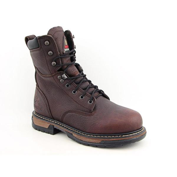 """Rocky Men's '8"""" IronClad' Leather Boots (Size 8) Wide"""