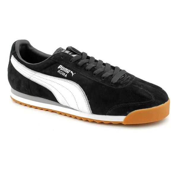 Puma Men's 'Roma LL NBK 2' Regular Suede Casual Shoes (Size 13)