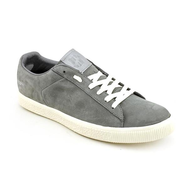 Puma Men's 'Clyde X Undftd Luxe 2' Nubuck Casual Shoes (Size 11)