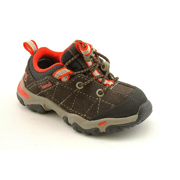 Timberland Earthkeepers Boy's 'Trail Force Bungee Oxford' Regular Suede Athletic Shoe