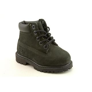 "Timberland Boy's '6"" Premium Waterproof' Nubuck Boots"