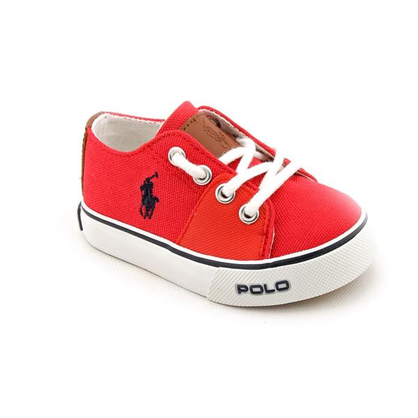 Polo Ralph Lauren Boy's 'Cantor' Canvas Casual Shoes