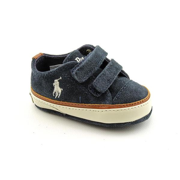 Ralph Lauren Layette Boy's 'Clayton Low EZ' Regular Suede Casual Shoes