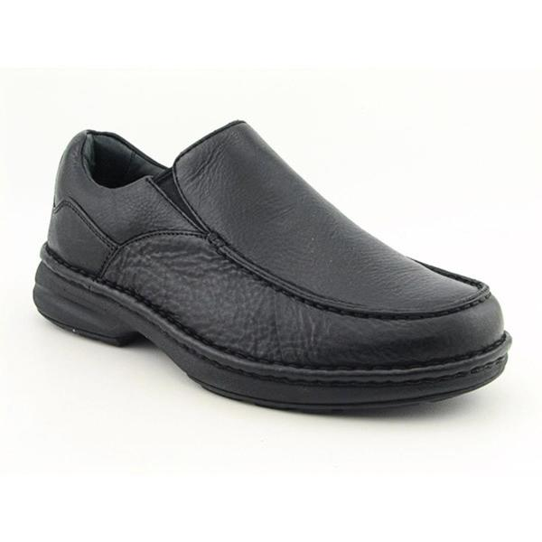 Aetrex Men's 'Moc Slip On' Leather Casual Shoes Wide