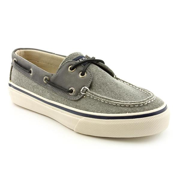 Sperry Top Sider Men's 'Bahama 2-Eye Heavy Canvas Leather' Canvas Casual Shoes
