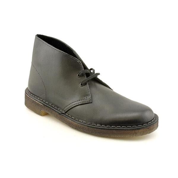 Clarks Originals Men's 'Desert Boot' Leather Boots