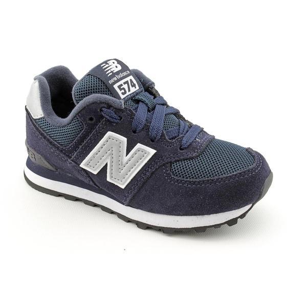 New Balance Boy's 'KL574' Regular Suede Athletic Shoe