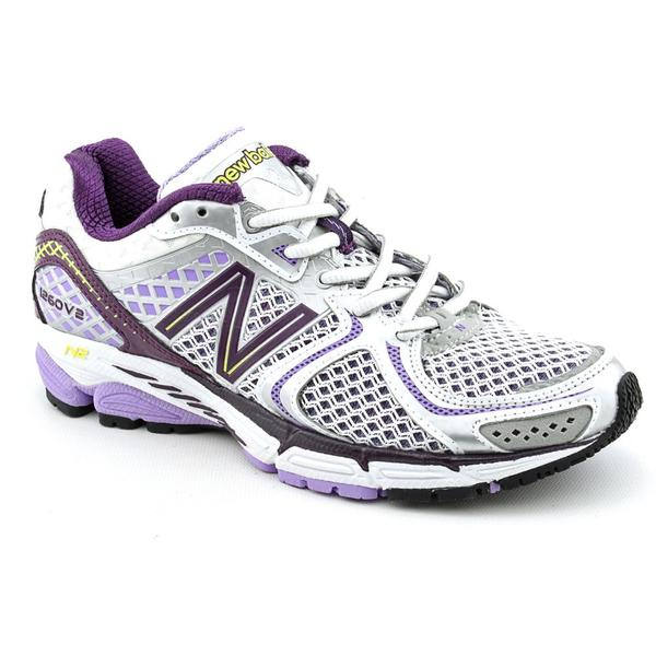 New Balance Women's Purple 'W1260v2' Mesh Athletic Shoe