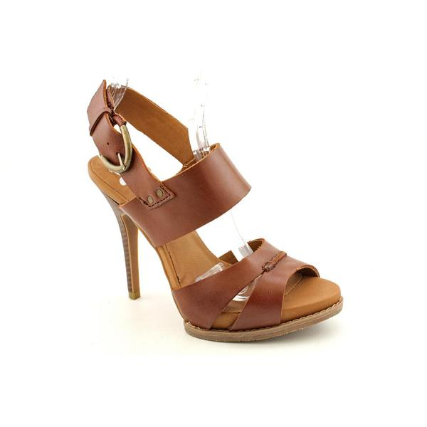 Calvin Klein Jeans Women's 'Steph' Leather Sandals