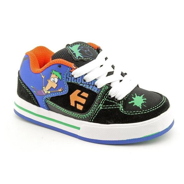 Etnies Boy's 'Phineas and Ferb Ronin' Nubuck Athletic Shoe