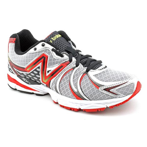 New Balance Men's 'M870v2' Silver Synthetic Athletic Shoe