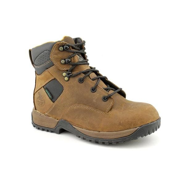 Georgia Men's 'G7574 Riverdale Hiker' Full-Grain Leather Boots Wide