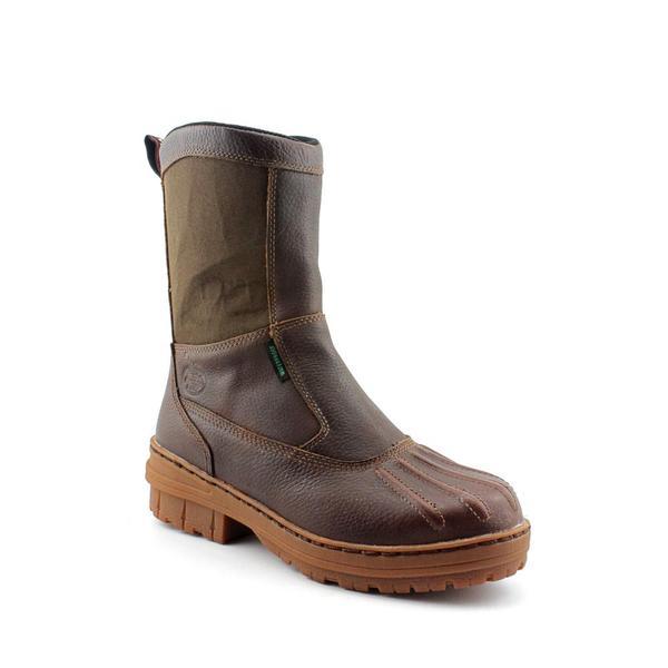 Georgia Men's 'G4074 Whitemarsh Wellington' Full-Grain Leather Boots Wide