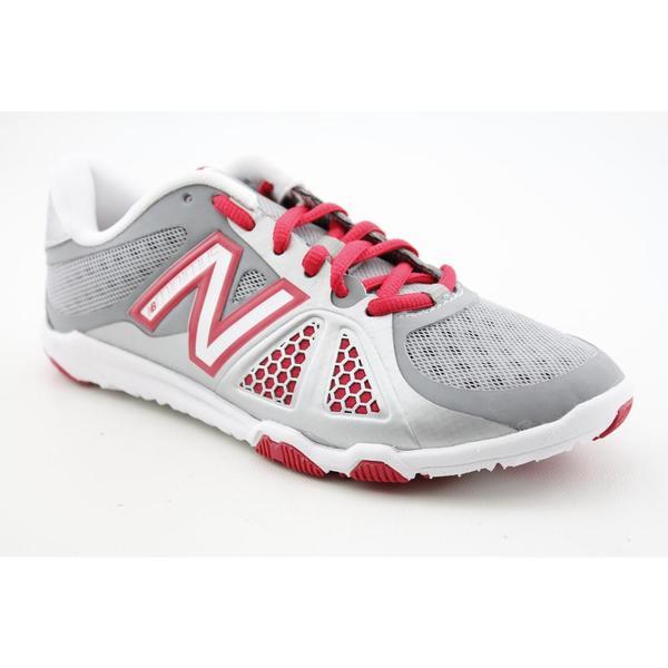 New Balance Women's Silver 'WX20v2' Mesh Athletic Shoe