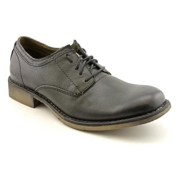 Calvin Klein Jeans Men's 'Danny' Full-Grain Leather Dress Shoes