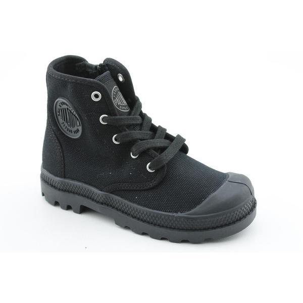 Palladium Boy's 'Pampa Hi' Basic Textile Boots
