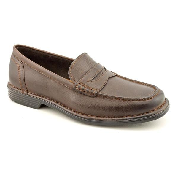 Rockport Men's 'Washington Square Penny' Full-Grain Leather Dress Shoes Wide