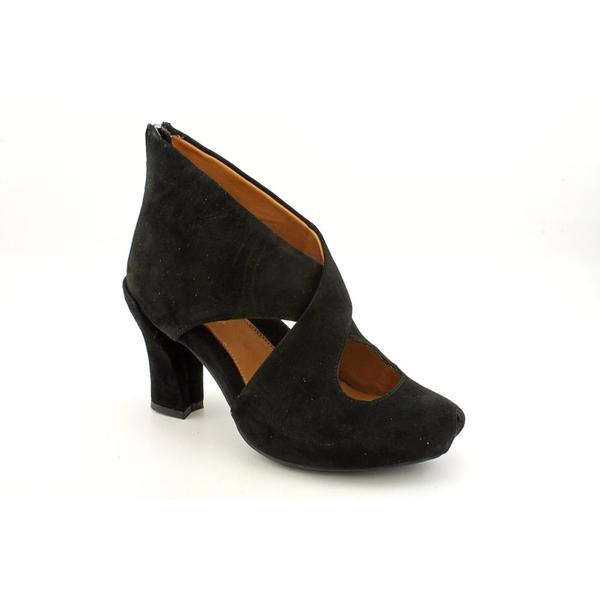 Earthies Women's 'Syriana' Regular Black Suede Boots