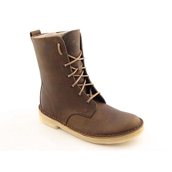 e045ce86907 Shop Clarks Originals Women's 'Desert Mali-W' Leather Boots - Free ...