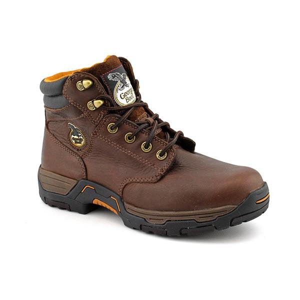"Georgia Men's '7593 Men's 6""' Leather Boots Wide"