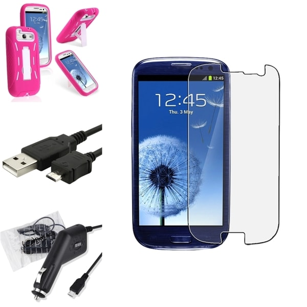 BasAcc Case/ Screen Protector/ Charger/ Cable for Samsung© Galaxy S3
