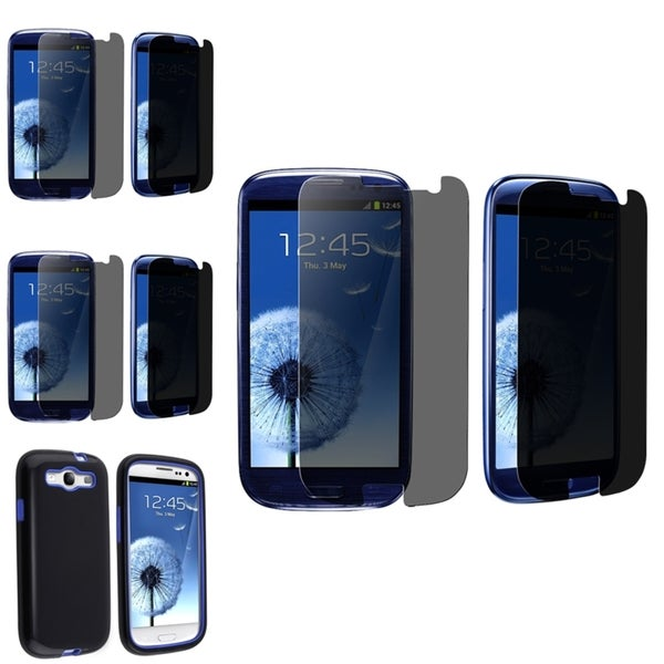 BasAcc Case/ Privacy Filter Screen Protector for Samsung© Galaxy S3