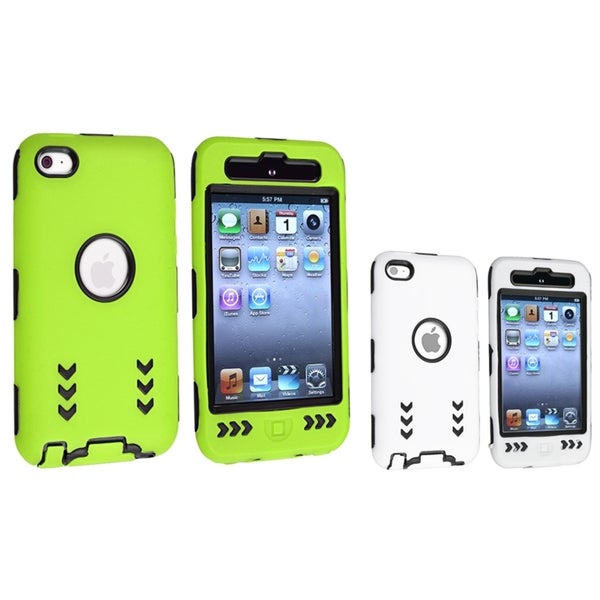 INSTEN Hybrid iPod Case Cover Set for Apple iPod Touch Generation 4