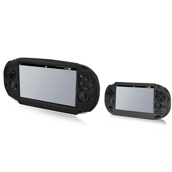 BasAcc Black Aluminum Case/ Silicone Case for Sony Playstation Vita