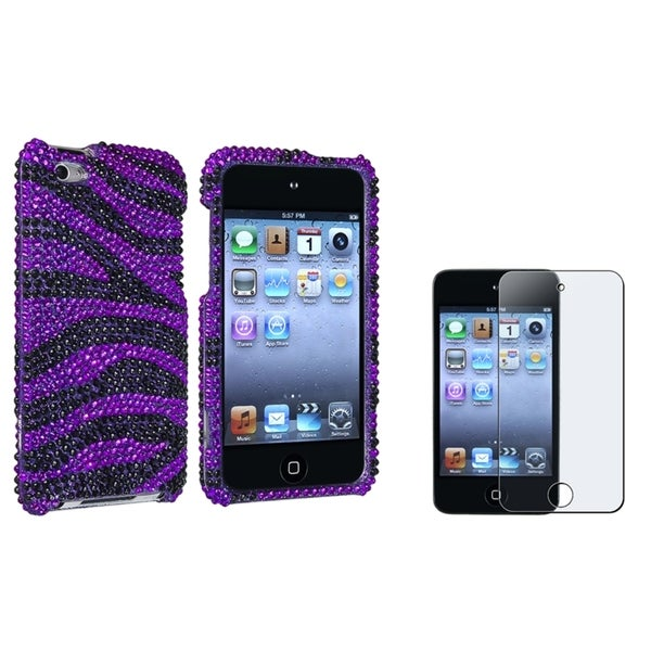 BasAcc Case/ Anti-glare Protector for Apple iPod Touch Generation 4