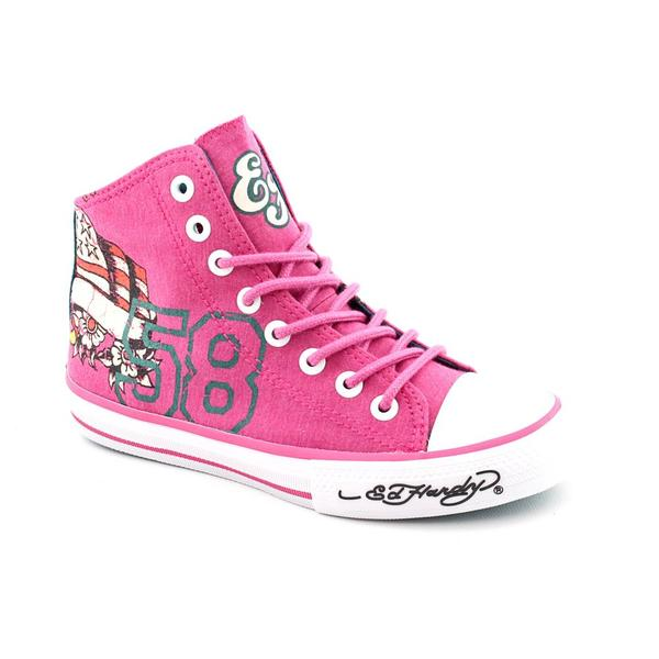 Ed Hardy Women's 'Highrise' Canvas Casual Shoes