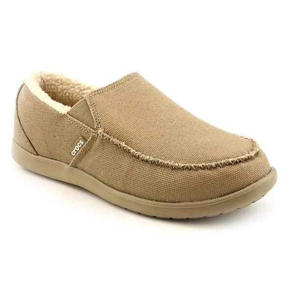 Crocs Men's 'Santa Cruz Lounger' Basic Textile Casual Shoes