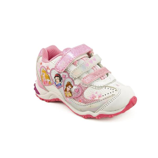 Disney Princess Girl's 'Multi-Lighted Heart Portraits' Synthetic Casual Shoes