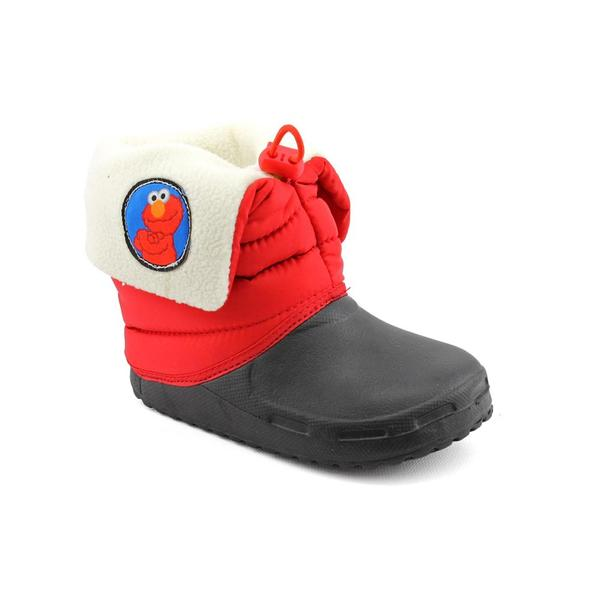 Sesame Street Boy's 'Elmo Boot' Fabric Boots