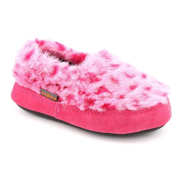 Acorn Girl's 'Tex Moc' Faux Fur Casual Shoes