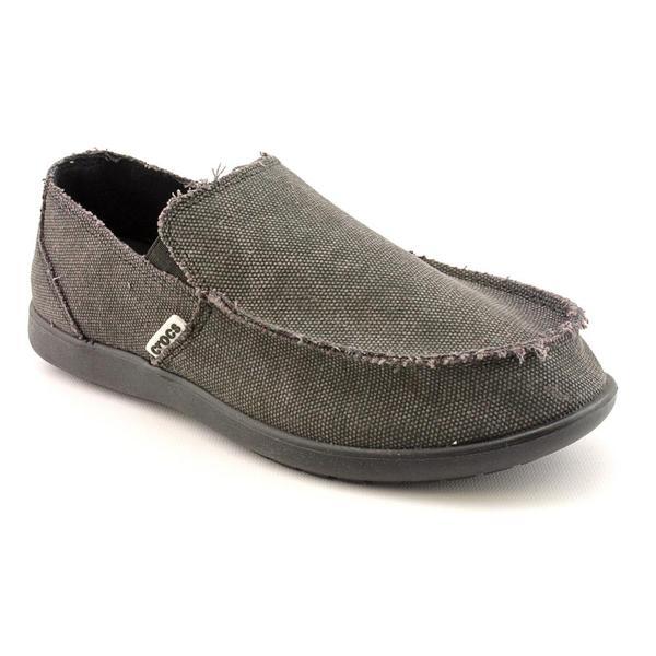Crocs Men's 'Santa Cruz' Basic Textile Casual Shoes