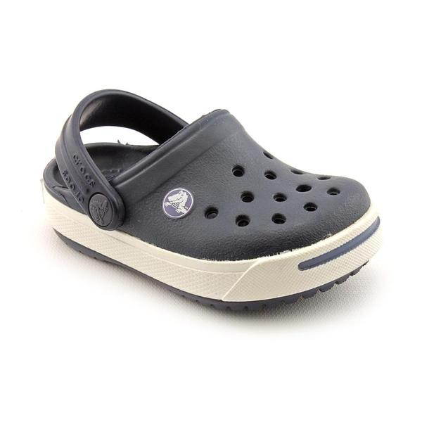 Crocs Boy's 'Crocband II Kids' Synthetic Casual Shoes