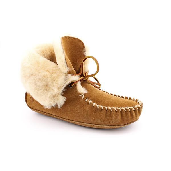 Acorn Women's 'Sheepskin Moxie Boot' Regular Suede Casual Shoes