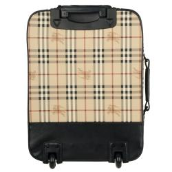9b8295947920 Shop Burberry 19-inch Check Print Carry-On Upright - Free Shipping Today -  Overstock - 5715776