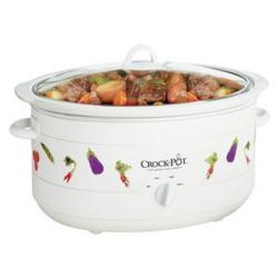 Thumbnail 2, Rival Crock Pot 5070TCVGNP 7-quart Oval Manual Slow Cooker. Changes active main hero.