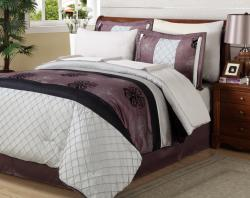 Dahlia 8-piece Bed in a Bag with Sheet Set - Thumbnail 1