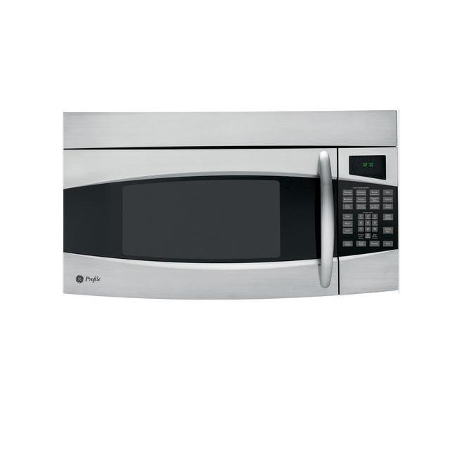 Ge Countertop Microwave Stainless Steel : GE Profile PVM1870SM Stainless Steel 1.8-cu-ft Spacemaker Over-the ...