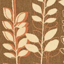 Safavieh Courtyard Foliage Brown/ Terracotta Indoor/ Outdoor Rug (8' x 11') - Thumbnail 2