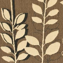 Safavieh Courtyard Foliage Brown Black Indoor Outdoor