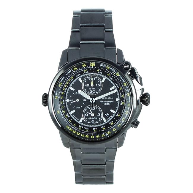 Seiko Men's Chronograph Multi-function Stainless Steel Watch