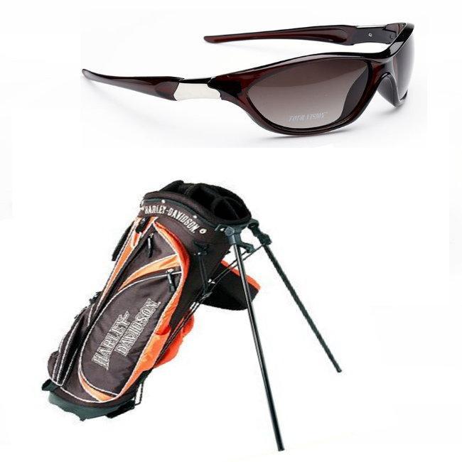 Harley Davidson Tour Vision Stand Bag And Sunglasses