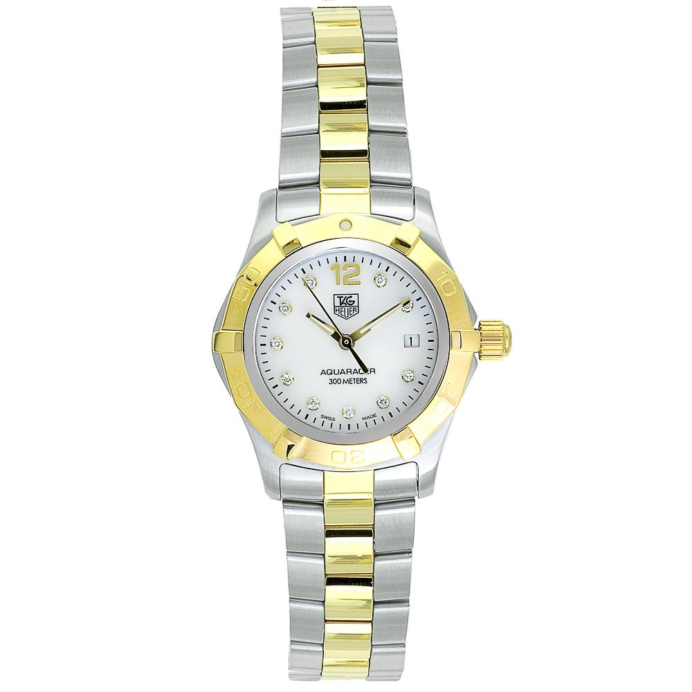 17e92712 Tag Heuer Women's Aquaracer Two-tone Stainless Steel Watch