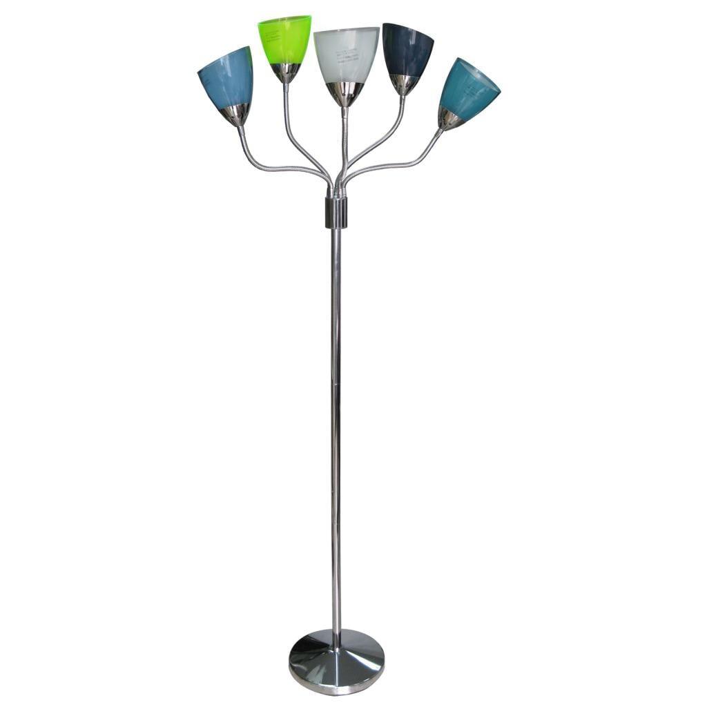 5-light Colorful Floor Lamp