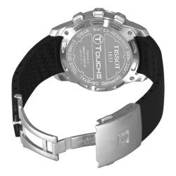 Tissot Men's 'T-Touch II' Black Dial Multi-Function Watch