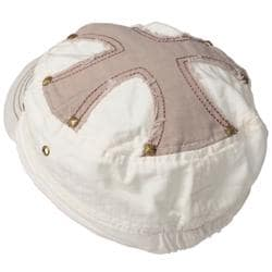Journee Collection Women's Cross Accent Military Cap - Thumbnail 1